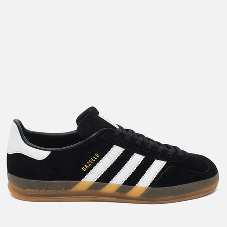 adidas Originals Gazelle Indoor Sneakers Core Black/White/Gum