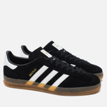 Кроссовки adidas Originals Gazelle Indoor Core Black/White/Gum фото- 1