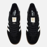 Кроссовки adidas Originals Gazelle Indoor Core Black/White/Gum фото- 4
