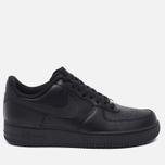 Мужские кроссовки Nike Air Force 1 Black фото- 0