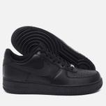 Мужские кроссовки Nike Air Force 1 Black фото- 2