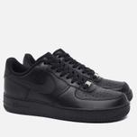Мужские кроссовки Nike Air Force 1 Black фото- 1