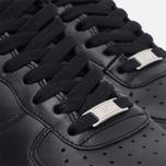 Мужские кроссовки Nike Air Force 1 Black фото- 5