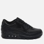 Мужские кроссовки Nike Air Max 90 Leather Black фото- 0