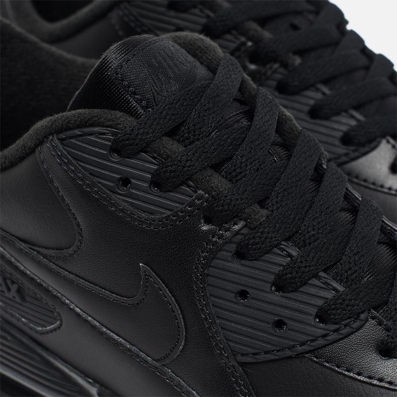 Мужские кроссовки Nike Air Max 90 Leather 302519 001