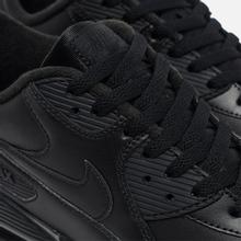 Мужские кроссовки Nike Air Max 90 Leather Black фото- 5