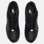 Мужские кроссовки Nike Air Max 90 Leather Black фото- 4