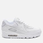 Мужские кроссовки Nike Air Max 90 Leather White фото- 0