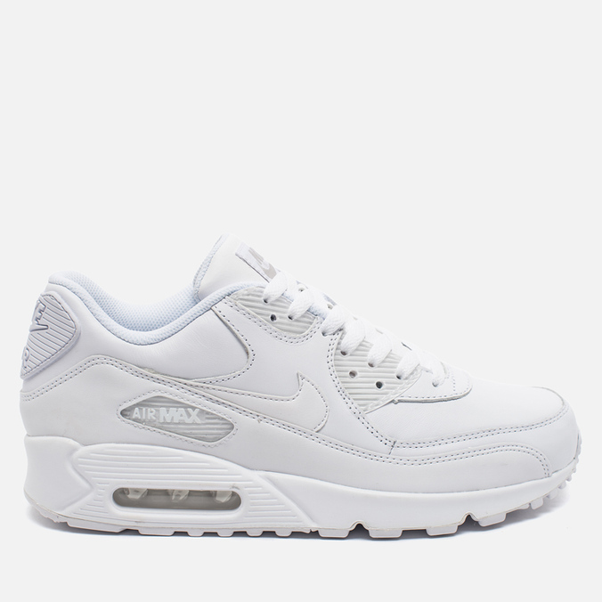 f9ca1fee Мужские кроссовки Nike Air Max 90 Leather White 302519-113