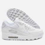 Мужские кроссовки Nike Air Max 90 Leather White фото- 2