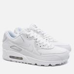 Мужские кроссовки Nike Air Max 90 Leather White фото- 1