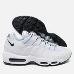 Мужские кроссовки Nike Air Max 95 White/Black фото- 1
