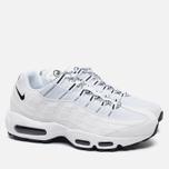 Мужские кроссовки Nike Air Max 95 White/Black фото- 2