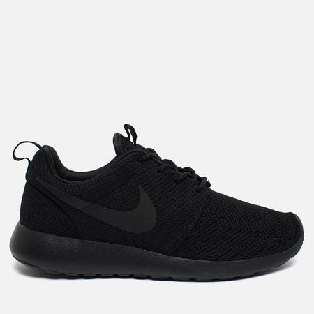 Мужские кроссовки Nike Roshe One Black/Black