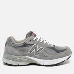 Мужские кроссовки New Balance M990GL3 Grey фото- 0