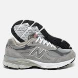 Мужские кроссовки New Balance M990GL3 Grey фото- 2
