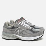 Мужские кроссовки New Balance M990GL3 Grey фото- 1