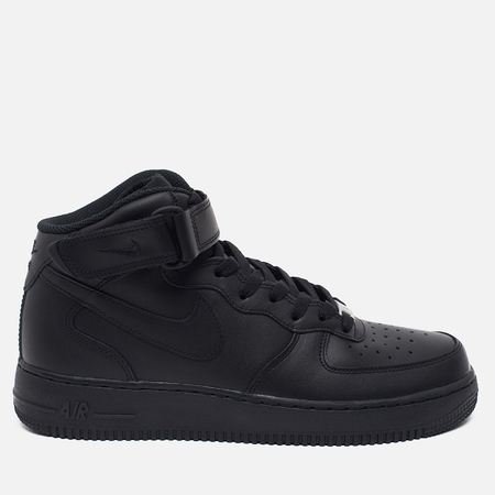 Nike Air Force 1 Mid Men's Sneakers Black