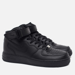 Nike Air Force 1 Mid Men's Sneakers Black photo- 1