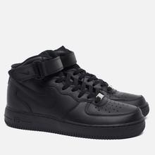 Мужские кроссовки Nike Air Force 1 Mid '07 Black фото- 1