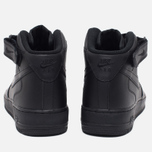 Nike Air Force 1 Mid Men's Sneakers Black photo- 3