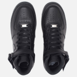 Nike Air Force 1 Mid Men's Sneakers Black photo- 4