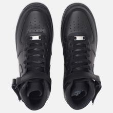 Мужские кроссовки Nike Air Force 1 Mid '07 Black фото- 4