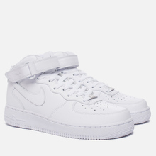 Мужские кроссовки Nike Air Force 1 Mid '07 White фото- 0