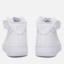 Мужские кроссовки Nike Air Force 1 Mid '07 White фото- 2