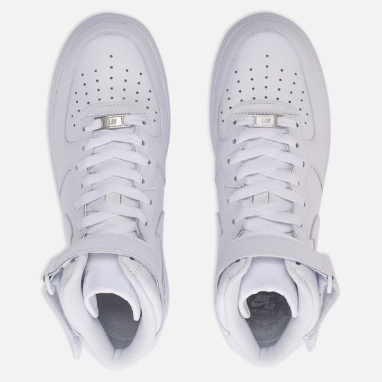Мужские кроссовки Nike Air Force 1 Mid '07 White