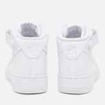 Nike Air Force 1 Mid Men's Sneakers White photo- 3