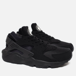 Nike Air Huarache Men's Sneakers Triple Black photo- 1