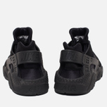 Nike Air Huarache Men's Sneakers Triple Black photo- 3