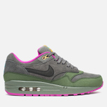 Мужские кроссовки Nike Air Max 1 Leather Dark Pewter/Carbon Green фото- 0
