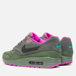 Мужские кроссовки Nike Air Max 1 Leather Dark Pewter/Carbon Green фото- 2