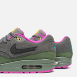 Мужские кроссовки Nike Air Max 1 Leather Dark Pewter/Carbon Green фото- 5