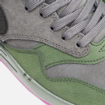 Мужские кроссовки Nike Air Max 1 Leather Dark Pewter/Carbon Green фото- 7