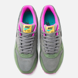 Мужские кроссовки Nike Air Max 1 Leather Dark Pewter/Carbon Green фото- 4