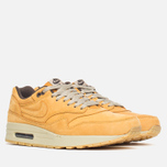 Мужские кроссовки Nike Air Max 1 Premium Leather Wheat Pack Bronze/Baroque Brown фото- 1