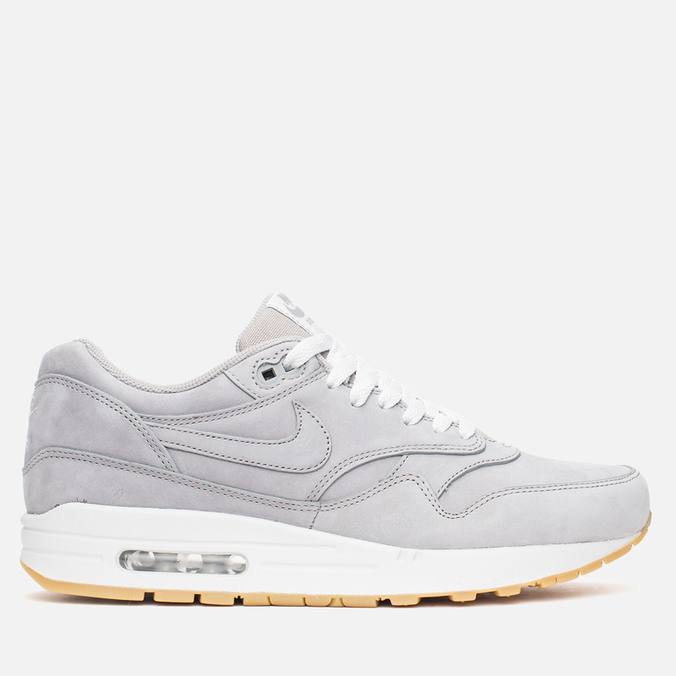Мужские кроссовки Nike Air Max 1 LTR Premium Medium Grey/Gum