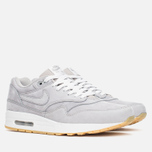 Мужские кроссовки Nike Air Max 1 LTR Premium Medium Grey/Gum фото- 1