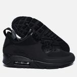 Мужские зимние кроссовки Nike Air Max 90 Mid Winter Black/Black фото- 2