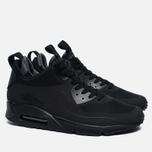 Мужские зимние кроссовки Nike Air Max 90 Mid Winter Black/Black фото- 1