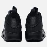 Мужские зимние кроссовки Nike Air Max 90 Mid Winter Black/Black фото- 4