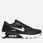 Мужские кроссовки Nike Air Max 90 Ultra Breeze Plus QS Black/White/Volt/Wolf Grey фото- 0