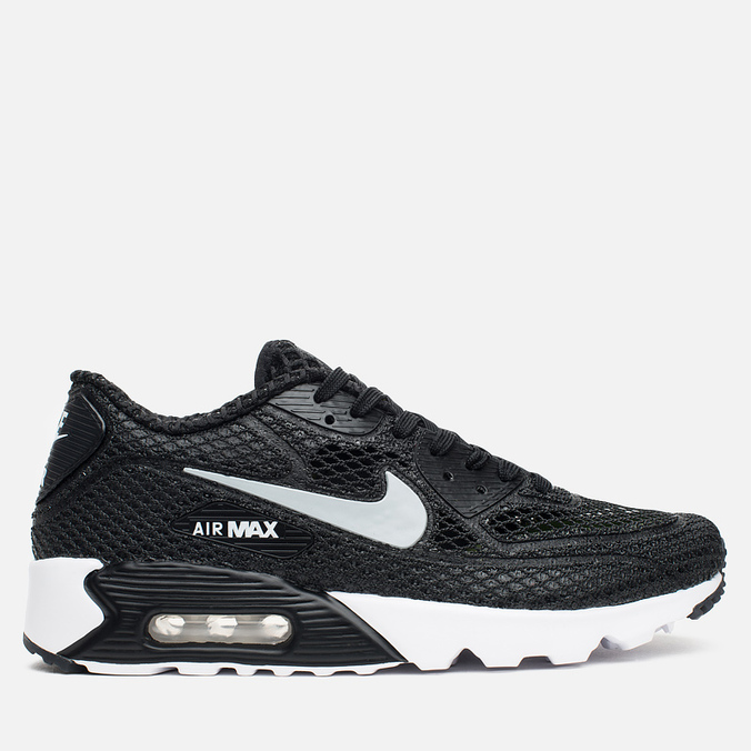 Мужские кроссовки Nike Air Max 90 Ultra Breeze Plus QS Black/White/Volt/Wolf Grey