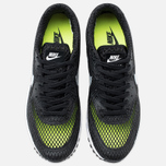 Мужские кроссовки Nike Air Max 90 Ultra Breeze Plus QS Black/White/Volt/Wolf Grey фото- 4