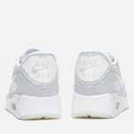 Мужские кроссовки Nike Air Max 90 Ultra Breeze Plus QS Pure Platinum/White/Racer Blue фото- 3