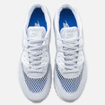 Мужские кроссовки Nike Air Max 90 Ultra Breeze Plus QS Pure Platinum/White/Racer Blue фото- 4