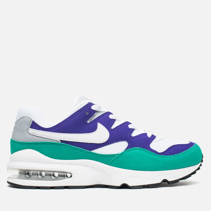 Мужские кроссовки Nike Air Max 94 Court Purple/White/Grey/Emerald Green